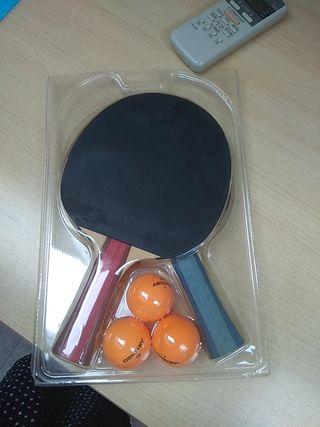 2 palas ping-pong