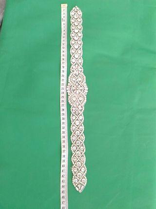 Cinturón para novia hecho a mano de brillate NUEVO