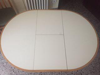 Mesa extensible 4 sillas