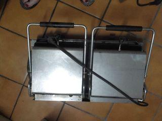 Plancha doble cocina