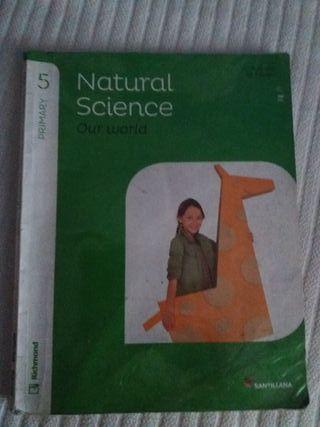 libro natural y social 5 primaria