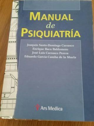 libro psiquiatría médica
