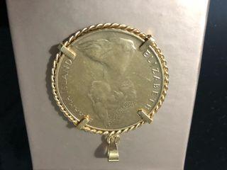 Colgante medalla