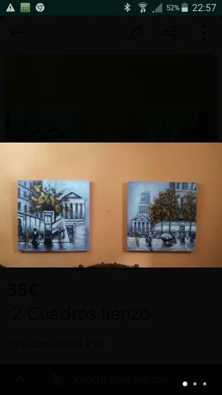 2 Cuadros decoración