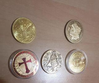 5 Monedas grandes