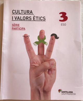 Cultura i Valors Ètics 3 ESO