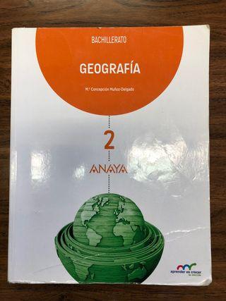 Libro Geografia 2 Bachillerato