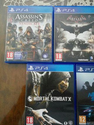 PS4 JUEGOS PS4