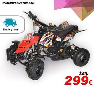 mini quad 49cc, nuevos