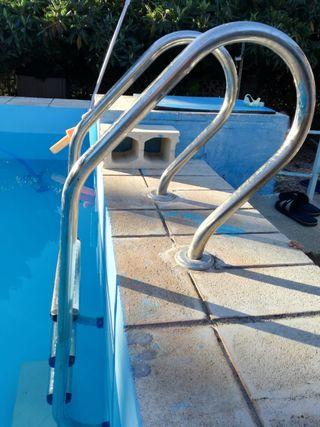 Escalera litera caravana de segunda mano por 45 en villena wallapop - Escalera piscina segunda mano ...