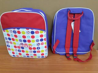Mochila nevera 37x33x15 cm color lila. ideal pla