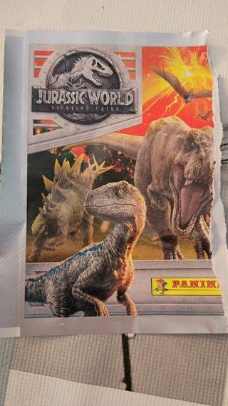 Cambio cromos Jurassic World 2