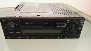 Radio Casette y Cargador Cd Original VW.
