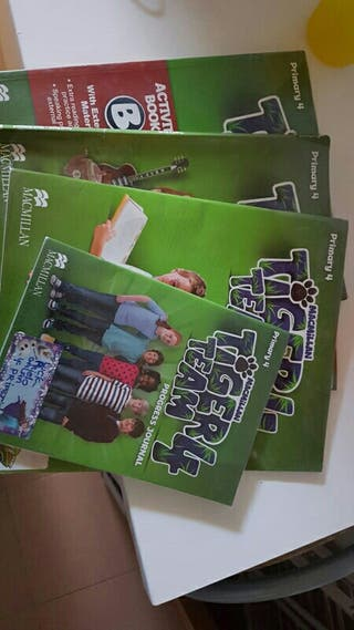 libro ingles 4 Tiger Team