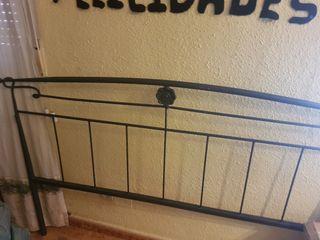 Cabecero cama 1,35 hierro forjado