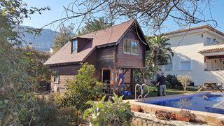 casita de madera 5x5 2 plantas