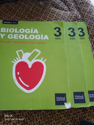 libros Biilogia y Geologia 3°ESO