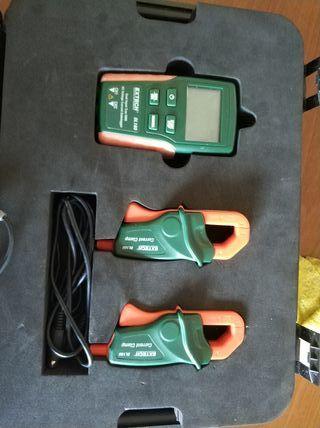 Datalogger eléctrico extech DL160