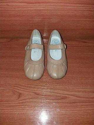 zapatos de piel críos número 21
