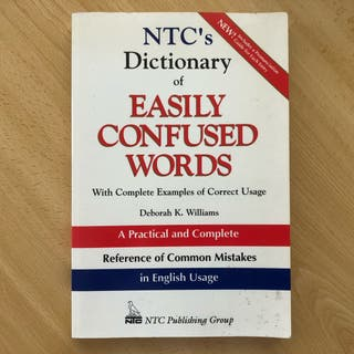 Dictionary of confused words