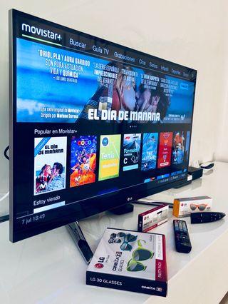 "LG SMART TV. Cinema 3D 42"""