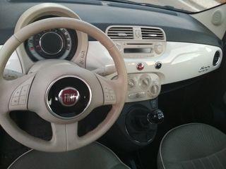 Fiat 500 1.2 S blanco 69CV en perfecto estado