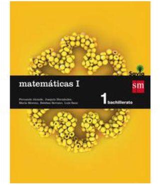 Libro matemáticas 1 bachillerato SM