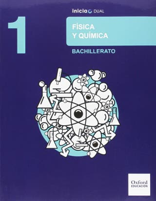 Libro fisica y quimica 1 bachillerato Oxford