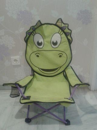 Silla dinosaurio
