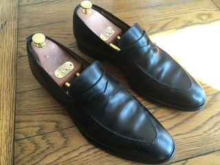Crockett and Jones Sydney Black Loafers UK 10