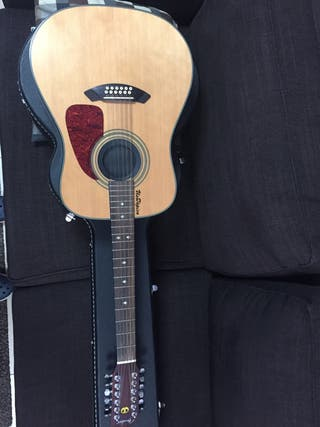 Guitarra acústica 12 cuerdas Fender
