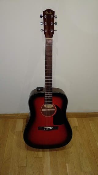 Guitarra acústica Fender + funda