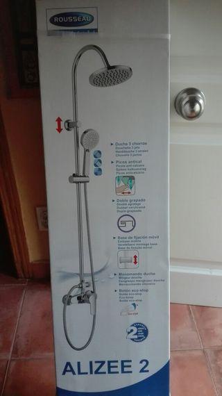 barra de ducha
