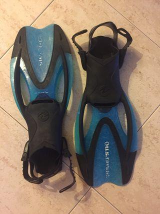 Aleras americanas snorkel