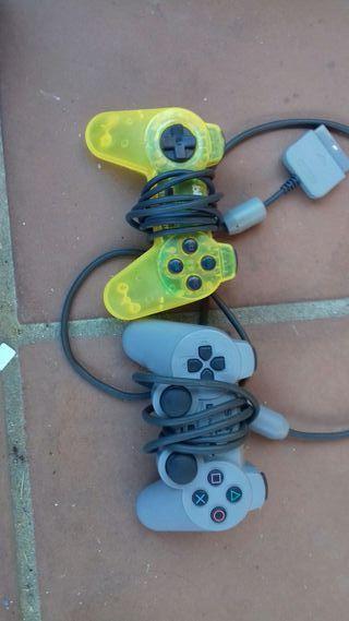 Mandos y pedales de la playstation 2