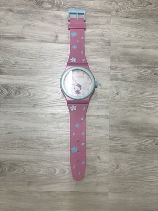 Reloj hello kitty de pared