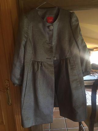 Zara abrigo puños textura caramelo