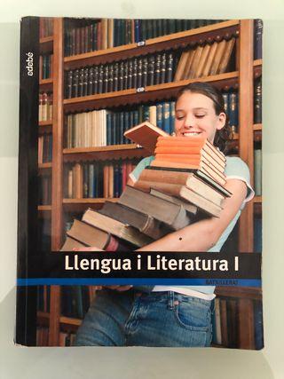 Libro de literatura catalana I