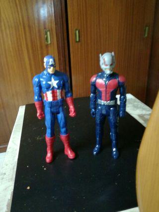 conjunto dos figuras avengers