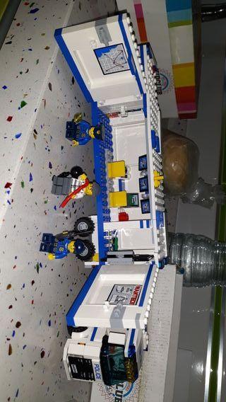 camion de policia de lego