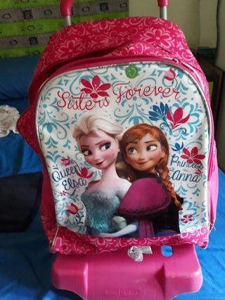mochila Frozen con ruedas