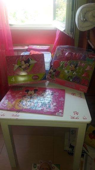 juegos Disney puzzles minnie