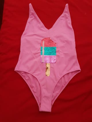Pink Swimsuit from Topshop