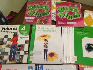 libros Santillana 4 primaria
