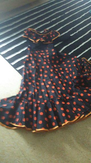 vestido de flamenca venfo por no usar 20€
