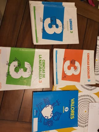 libros 3 primaria anaya