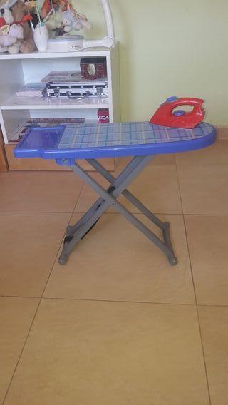 Plancha y tabla de planchar posts niños