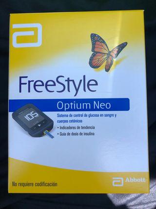 Glucometeo Freestyle optium ne