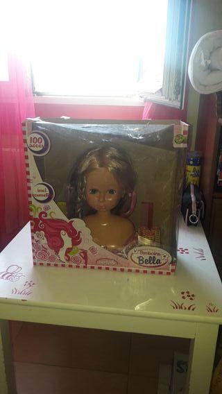 cabeza de muñeca para peinar