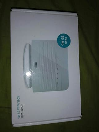 Router Wifi ADSL hasta 35 Mb